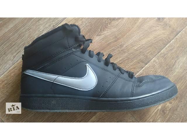 продам Кроссовки Nike (высокие) р.44(9) чёрные классика India отличное сост. бу в Виннице