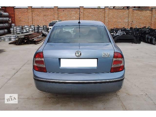 купить бу Крышка багажника для седана Skoda SuperB 2007 в Львове