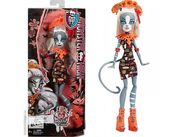 продам Кукла Monster High Ghouls´ Getaway Meowledy бу в Одессе