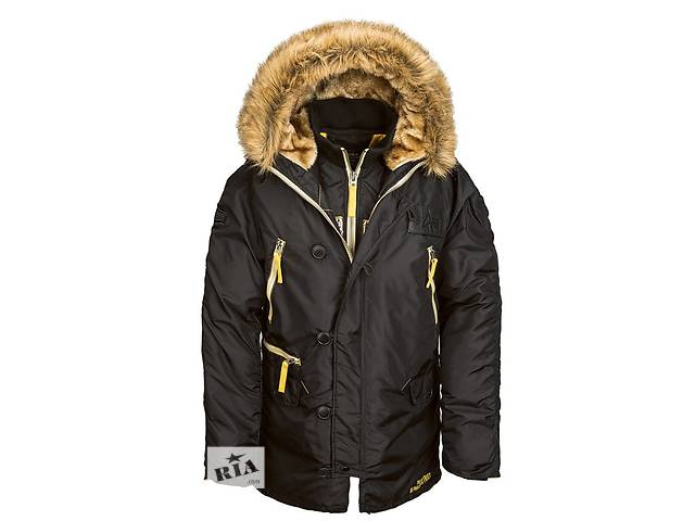 бу Куртка аляска N-3B Inclement Parka Alpha Industries (черная) в Львове