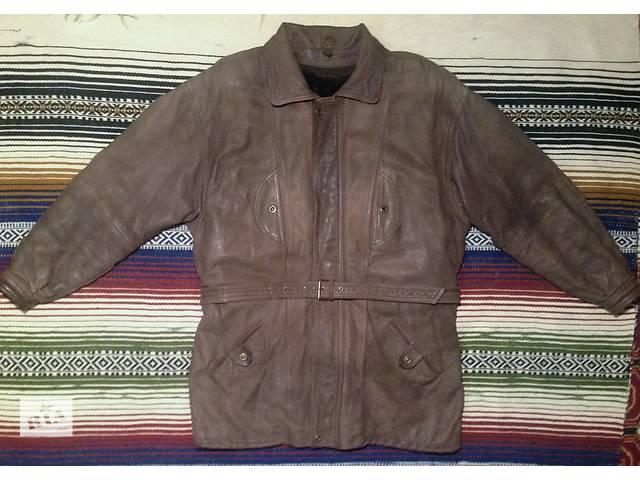 Куртка из натуральной кожи  размер XL- объявление о продаже  в Харькове