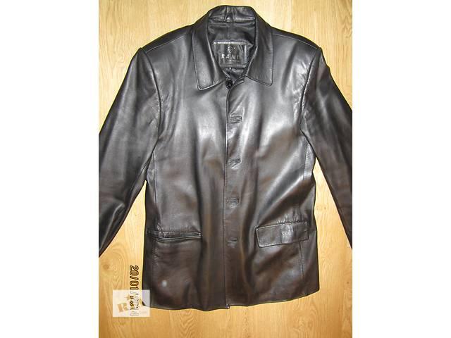 продам Куртка мужская кожа бу в Броварах