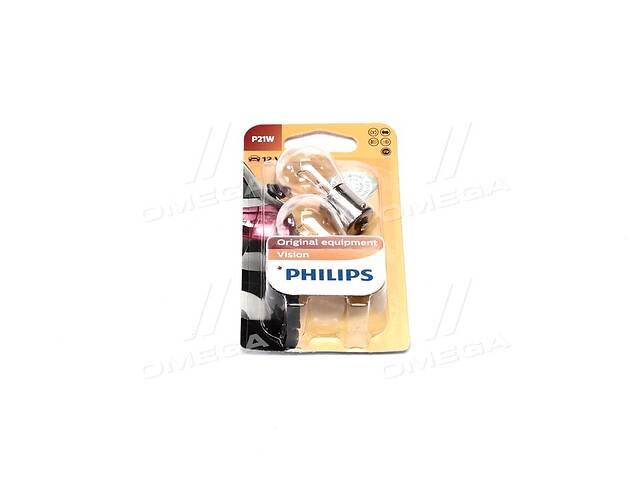 продам Лампа накаливания P21W12V 21W BA15s (blister 2шт) (пр-во Philips) бу в Харькове