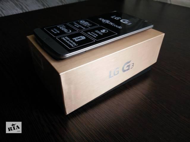продам LG G3 (F400) В НАЛИЧИИ телефон с 4К экраном. бу в Полтаве