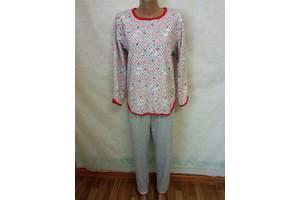 Пижамы женские теплые на байке р-р 44,46,48 хлопок Украина. От 3шт по 149грн