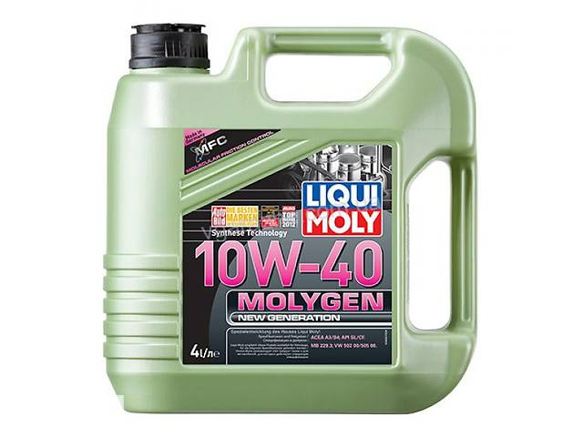 купить бу Liqui Moly Molygen New Generation 10W-40 4л. Art. vikr-671038935 в Киеве