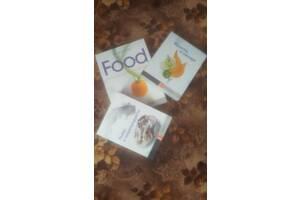 3 Книги! Тойбнер Teubner Food Рыбы Морепродукты Фрукты Овощи