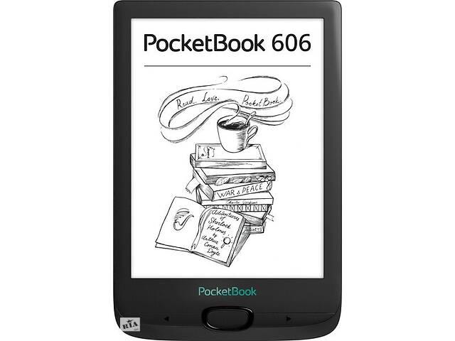 бу Электронная книга PocketBook 606 Black в Киеве