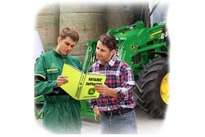 Каталог запчастей трактора Джон Дир John Deere 7930 в виде книги на русском языке купить онлайн