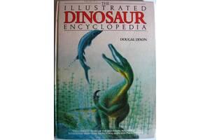 Книга энциклопедия динозавров и палеонтологии, школьнику, на англ.