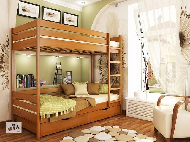 купить бу Кровати двухярусні из массива дерева в Киеве
