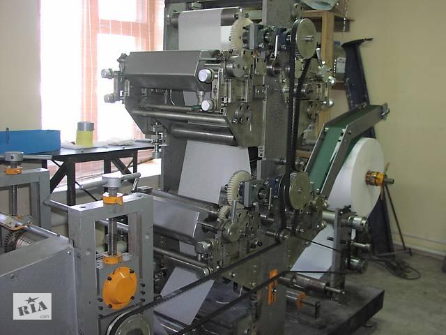 Линия для производства бумажной салфетки