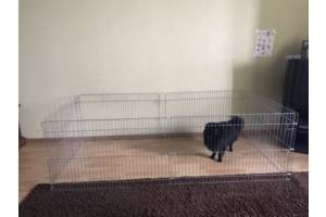 Манеж клетка для собак кошек птиц для собак кошек 200х100х60h 2в1