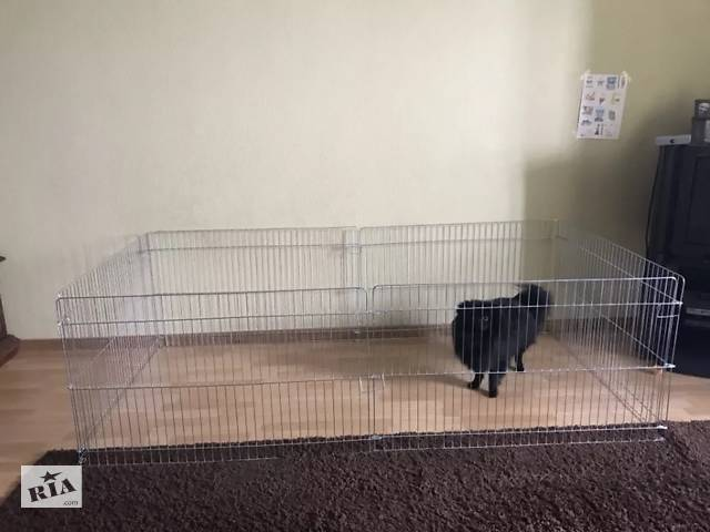 продам Манеж клетка для собак кошек птиц для собак кошек 200х100х60h 2в1 бу в Киеве