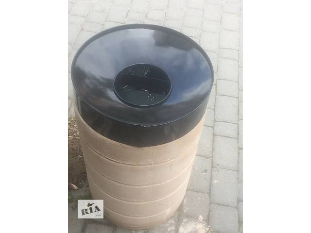 купить бу Урна бетонная с пепельницей в Ивано-Франковске
