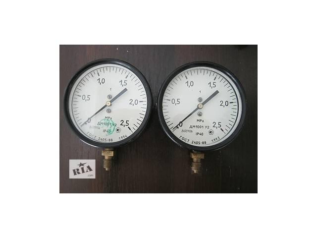 продам Манометры складского хранения ДМ 1001 У2 с диапазоном измерения от 0 до +2,5 МПа бу в Краматорске