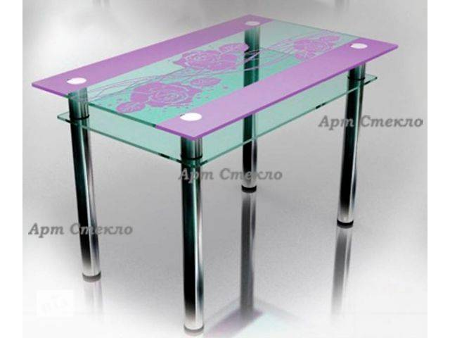 Мебель для кухни Кухонные столы Кухонные столы стеклянные . Бесплатная доставка по Украине!новый- объявление о продаже  в Дружковке