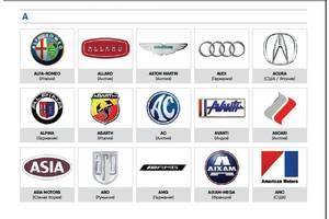 Автокаталог. Всі марки авто в одному автожурнале. #журнал-каталог