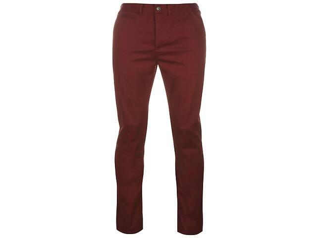купить бу Джинсы Pierre Cardin Slim Fit Trousers Mens 34WR Бордовый (518107-R) в Киеве