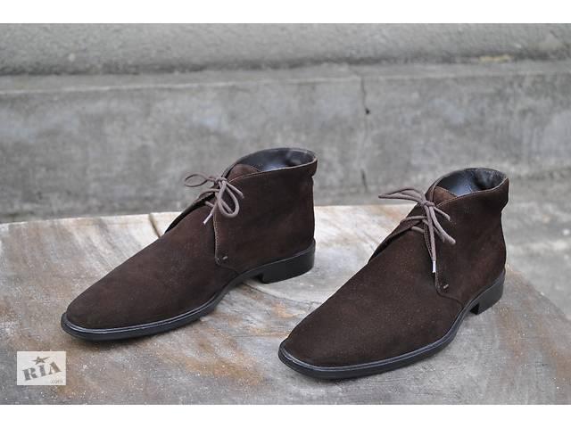 Hugo Boss Chukka, ботинки 43,5-44 р.- объявление о продаже  в Киеве
