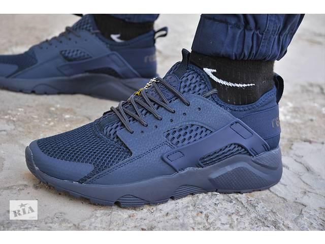купить бу Чоловічі кросівки Nike air Huarache blue кросівки найк еір аїр  хуарачи в Южноукраїнську 227a97619140b