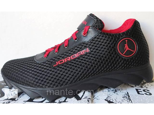 купить бу Мужские кроссовки в стиле Jordan 2018 весна осень кожа обувь  кросовки спорт сетка в db9f4127196d0