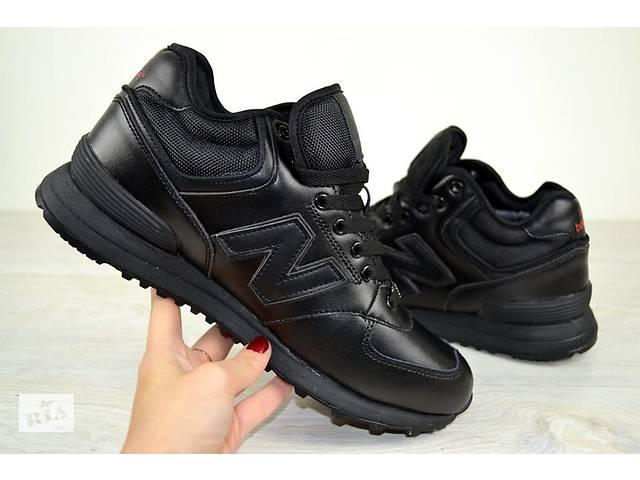 купить бу Чоловічі зимові кросівки New Balance чорні нью баланс в Дніпрі  (Дніпропетровськ) 32ed405908580