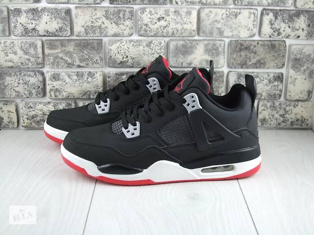 0e55aafeb бу Nike Air Jordan 4 Flight 41-46р высокие кроссовки adidas качественные  reebok баскетбольная обувь