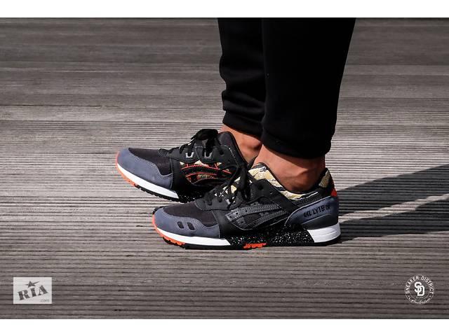 бу Продам мужские кроссовки Asics Gel Lyte III - Black Camo (ОРИГИНАЛ) в 7e01d11ff1467