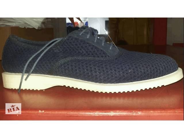 Продаються літні мужкие туфлі Dr.Martens- объявление о продаже  в Києві