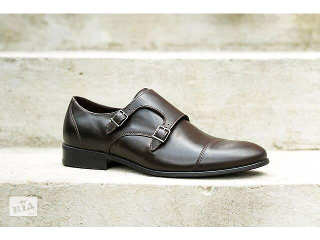 продам Туфлі монки ІКОС коричневі бу в Тернополе