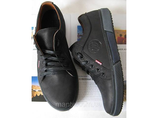 cc36a1fb Мужские кеды весна осень обувь 2018 кожаные туфли Вранглер ботинки черные