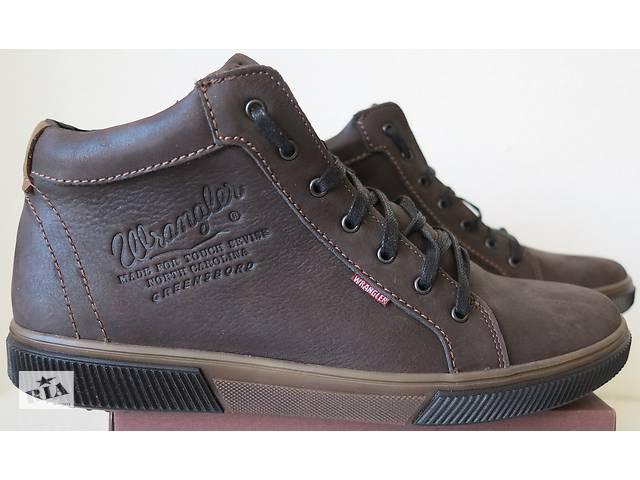 81831a80b продам Wrangler Мужские зимние кеды ботинки натуральная кожа в спортивном  стиле обувь сапоги Вранглер бу в