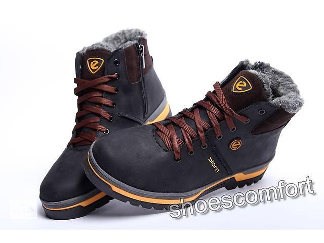 9da6581a3 купить бу Зимние кожаные ботинки ECCO Biom 359 - 2 шнуровка плюс молния в  Вознесенске