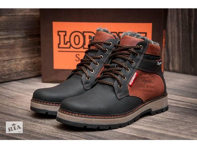 Зимние кожаные ботинки Wrangler Arizona Brown- объявление о продаже  в Вознесенске