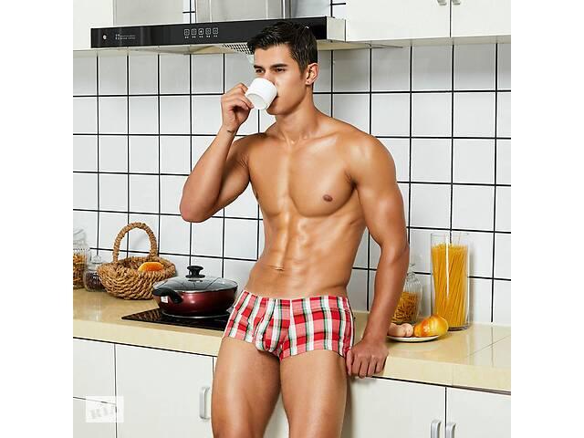 Модные мужские трусы в клетку Seobean - №5727- объявление о продаже  в Миколаєві