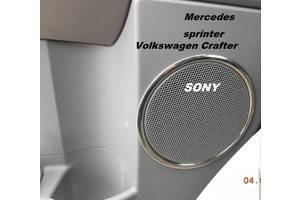 Новые Хромированные накладки Mercedes Sprinter