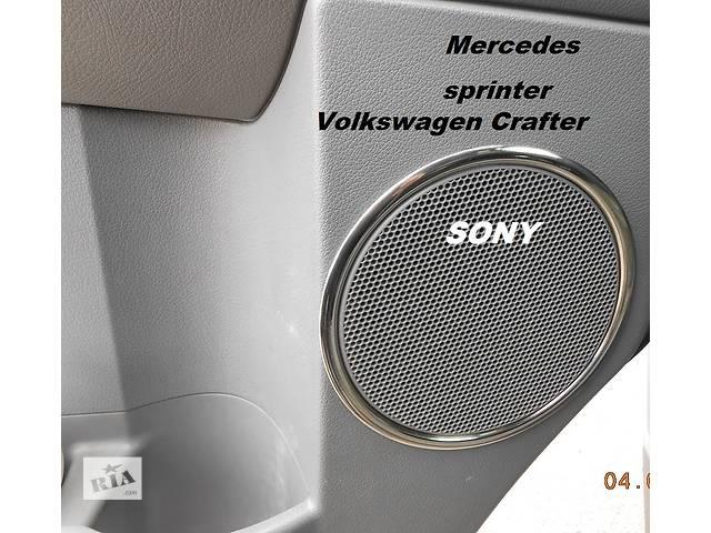 Mercedes Sprinter,Volkswagen Crafter Хромнакладки на карты дверей 2шт.- объявление о продаже  в Полтаве