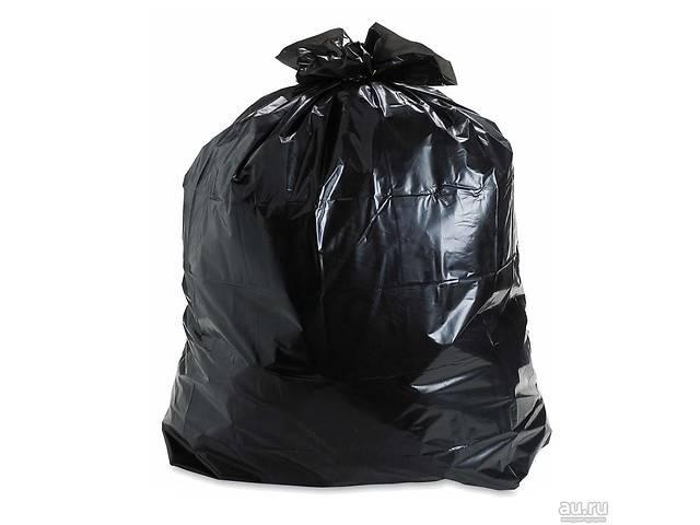 продам Мешки полиэтиленовые чёрные для упаковки товара 65х100, 70 мкм бу в Харькове