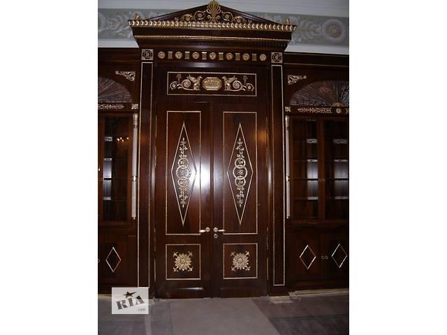 бу Межкомнатные двери из массива натурального дерева в Одессе
