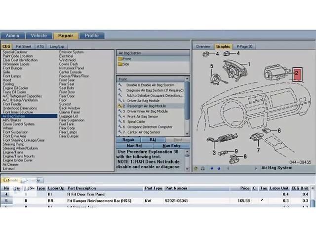 купить бу Mitchell Estimating (UltraMate) - Установка программы для расчета ДТП! в Днепре (Днепропетровск)