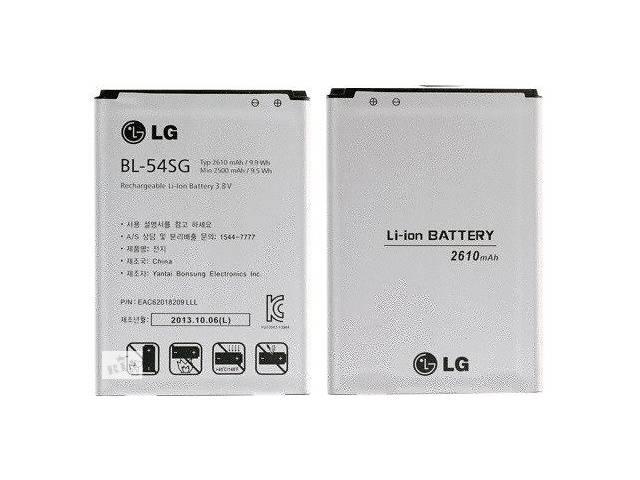 продам Акумулятор батарея BL-54SG для LG G2 / G3s G3 mini D722 D724 / L90 D410 оригінальний бу в Києві