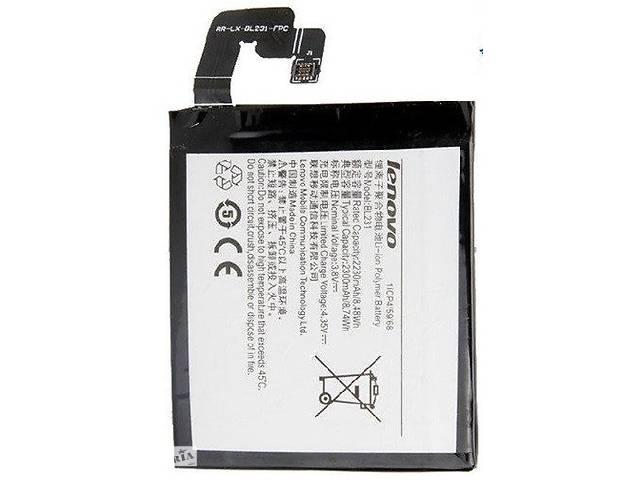 бу Аккумулятор батарея BL231 для Lenovo Sisley S90 / Vibe X2 / S90e / A6600 оригинал в Киеве
