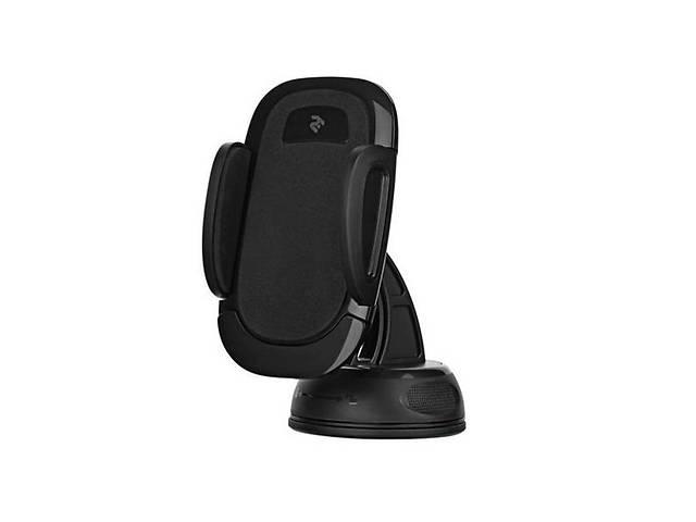 купить бу Автомобильный держатель 2E CH0101 для смартфонов  Semi-Automatic Black в Киеве