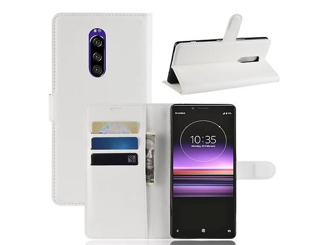 продам Чехол Luxury для Sony Xperia 1 (J9110) / XZ4 книжка белый бу в Дубно