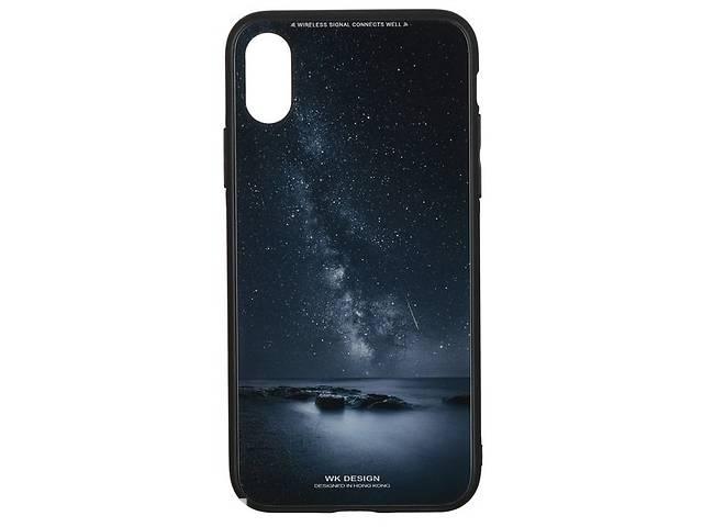 купить бу Чeхол WK для Apple iPhone XS/X WPC-061 Milky way в Києві