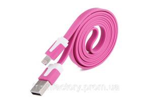 Кабель Lightning/USB (1м, разные цвета):Розовый