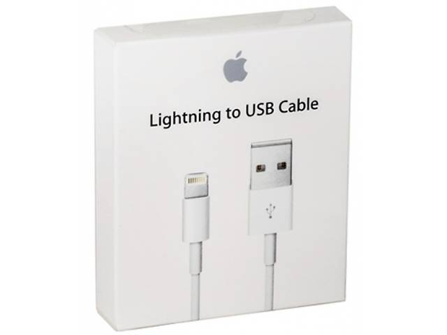 бу Оригинальный кабель Apple Lightning to USB Cable Iphone 5/ 5s / SE / 6 / 6s / 7 / 8 / 10 / X (MD818) в Киеве