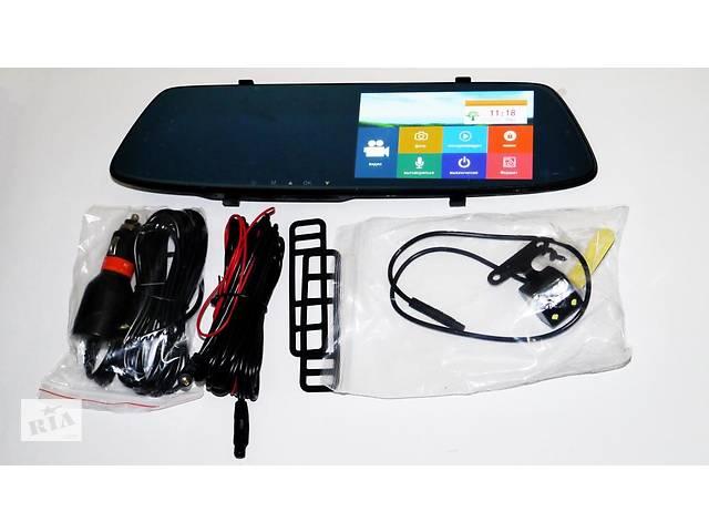 """купить бу DVR L1001С Full HD Зеркало с видео регистратором с камерой заднего вида. 5"""" Сенсорный экран в Днепре (Днепропетровск)"""