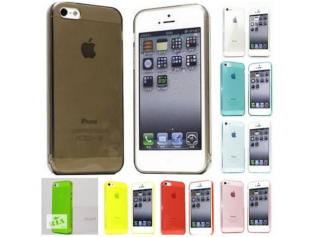 бу Силиконовый чехол для iPhone 5 5S SE в Дубно